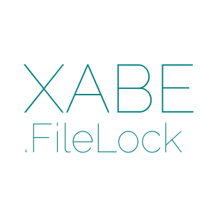 Xabe.FileLock logo